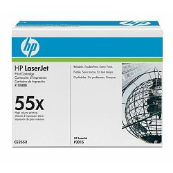 HP toner CE255X Black Print Cartridge
