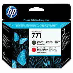 HP 771 Matte Black/Chromatic Red Printhead