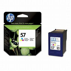 C6657AE HP tinta tri color, No.57, 17ml