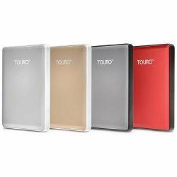 """HDD External HGST Touro S (2.5"""", 1TB , USB 3.0) Gray"""