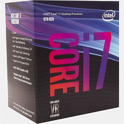Intel Core i7 8700 3.2GHz,12MB,6C/12T,LGA 1151 CL