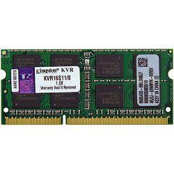 Kingston DDR3 SODIMM,1600MHz, 8GB