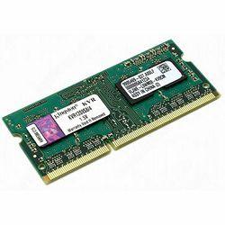 Kingston  4GB 1333MHz DDR3 Non-ECC CL9 SODIMM 1Rx8, EAN: 740617207767