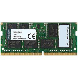 Kingston  16GB 2133MHz DDR4 Non-ECC CL15 SODIMM 2Rx8, EAN: 740617253603