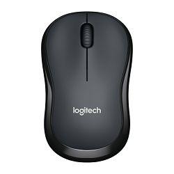 Logitech M220 Silent, optički miš, crno sivi