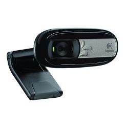 Logitech C170 web kamera, 720p, kvačica, crna