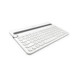Logitech K480, BT tipkovnica s dodirom, bijela