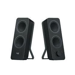 Logitech Z-207, 2.0 bluetooth zvučnici, crni