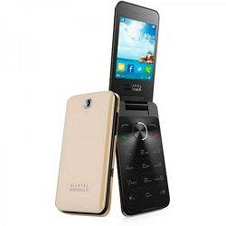 Mobitel Alcatel OT-2012 DS, zlatno žuti