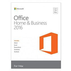 Office Mac Home&Bus. 2016 Eng Medialess