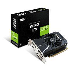 MSI GF GT 1030 Aero ITX 2G OC, 2GB GDDR5, DX12