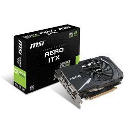MSI GF GTX 1060 Aero ITX OC, 6GB GDDR5, DX12