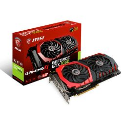MSI GF GTX 1060 Gaming, 6GB GDDR5, DX12