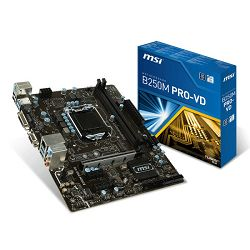 MSI B250M PRO-VD, LGA1151