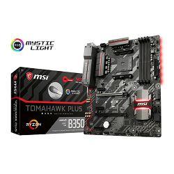 MSI B350 Tomahawk Plus, AM4, DDR4, U3, m.2, ATX
