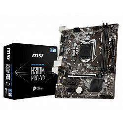 MSI H310M PRO-VD, LGA1151, D4,S3,U3, mATX