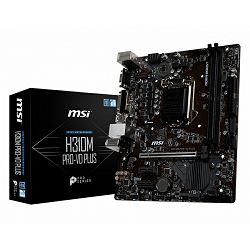 MSI H310M PRO-VD PLUS, LGA1151, D4,S3,U3, mATX