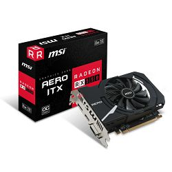 MSI RX 550 Aero ITX , 2GB GDDR5, DX12