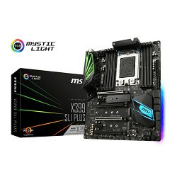 MSI X399 SLI Plus, Socket TR4