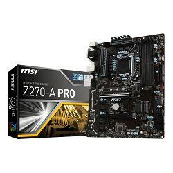 MSI Z270A Pro, s.1151
