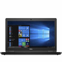 DELL Latitude 5580 15.6 FHD(1920x1080), Intel Core i5-7300U (Dual Core, 2.60Gz, 3MB cache), 8GB (1X8GB), 256GB M.2 SSD, Intel HD 620, AC 8265 Wi-Fi + BT 4.2, RJ-45, HD Cam, Mic, 3xUSB3.0 PWS, USB-C,