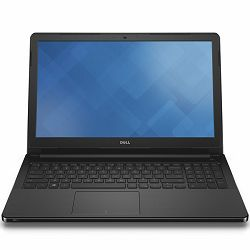 DELL Notebook Vostro 3568 15.6 HD(1366x768)AG, Intel Core i3-6006U(3MB Cache,up to 2.00 GHz), 8GB DDR4, 256GB SSD 2.5in, Intel HD Graphics, DVDRW, WiFi 802.11 b/g/n, BT 4.0, RJ-45, Cam, Mic, VGA,HDMI,
