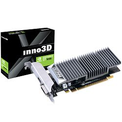 Inno3D Video Card GeForce GT 1030 GDDR5 2GB/64bit, 1227MHz/1468-boost, 6008 MHz , PCI-E 3.0 x16, HDMI, DVI-D, Passive, Retail