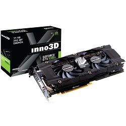 Inno3D Video GeForce GTX 1080 Ti X2 11GB GDDR5X 352-bit 1480 11Gbps DVI+3xDP+HDMI