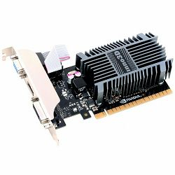 Inno3D Video Card GeForce GT710 2GB SDDR3 64-bit 954 1600 DVI+VGA+HDMI Heatsink