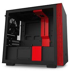 NZXT H210 crveno bez napajanja, ITX
