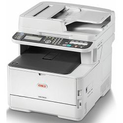 Oki MC363dnw print/scan/copy/fax, 26/30ppm, dupl.