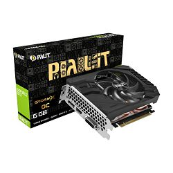 Palit GF GTX1660Ti StormX OC, 6GB GDDR5