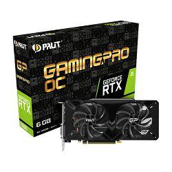 Palit GF RTX2060 Gaming Pro OC, 6GB