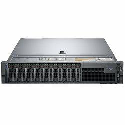 DELL EMC PowerEdge R740, Intel Xeon Silver 4108(1.8G,8C/16T,9.6GT/s,11M Cache,Turbo,HT(85W), 16GB RDIMM 2666MT/s, 600GB 10K RPM SAS 12Gbps 512n 2.5in Hot-plug HDD, iDRAC9 Expr., PERC H330 RAID, Single