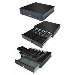 Ladica za novac TVS eversun R410-5N8K, crna