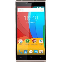 """Prestigio GRACE Q5 5.0"""" HD On-cell, Dual SIM, Android 5.1, Quad Core 1,3GHz, 1280*720, 8GB ROM, 1GB RAM, 5.0+8.0Mpx with flash lights , 3200 mAh with NTC, Gold"""