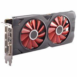 XFX Video Card AMD RADEON RX 570 RS 4GB Black Ed. OC 1264 Mhz GDDR5 7.0GHz 4GB/256bit Dual Fan 3X DP HDMI DVI, 3 years warranty