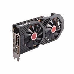 XFX Video Card AMD RADEON RX 580 GTS 8GB Black Ed. OC 1405 Mhz GDDR5 8GB/256bit Dynamic 22 Blade fan 3X DP HDMI DVI