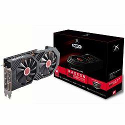 XFX Video Card AMD RADEON RX 580 GTS 8GB XXX Ed. OC 1366 Mhz GDDR5 8GB/256bit Dynamic 22 Blade fan 3X DP HDMI DVI