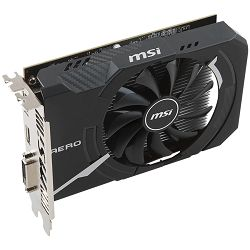 MSI Video Card AMD Radeon RX 560 OC GDDR5 4GB/128bit, 1196MHz/7000MHz, PCI-E 3.0 x16, DP, HDMI, DVI-D, Torx fan Cooler (Double Slot) Retail