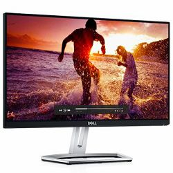 Monitor DELL S- series S2218M 21.5, 1920x1080, FHD, IPS Glossy, 16:9, 1000:1, 8000000:1, 250 cd/m2, 6ms, 178/178, DVI-D (HDCP), VGA, Audio line out, Tilt, 3Y