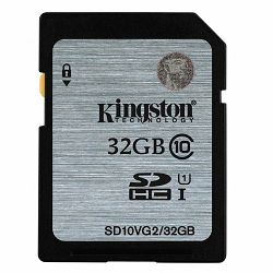 Kingston  32GB SDHC Class10 UHS-I 45MB/s Read Flash Card, EAN: 740617243468
