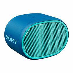 Sony SRS-XB01, prijenosni zvučnik Bluetooth, plavi