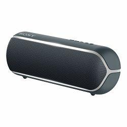 Sony SRS-XB22, prijenosni zvučnik Bluetooth, crni
