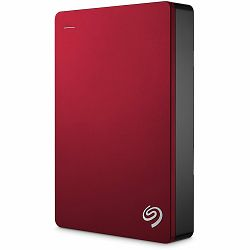 SEAGATE HDD External Backup Plus Portable (2.5,4TB,USB 3.0) Red