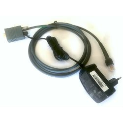 Serijski kabel i ispravljač za  Symbol bar kod č.