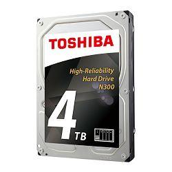 Toshiba N300 4TB, 128MB, 7200rpm, NAS