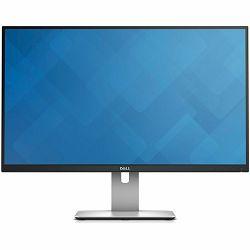 Monitor DELL UltraSharp U2715H 27, 2560 x 1440, QHD, IPS Antiglare, 16:9, 1000:1, 2000000:1, 350 cd/m2, 6ms, 178/178, HDMI(MHL), DisplayPort, MiniDisplayPort, 5xUSB3.0, Audio Line out, Tilt, Swivel,