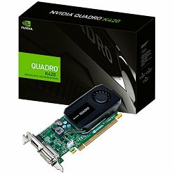 PNY NVIDIA Video Card Quadro K620 DDR3 2GB/128bit, PCI-E 2.0 x16, DVI-D, DP, Cooler, Low Profile, Single Slot, Retail (Adapter, Cable, Full Size and Low Profile Bracket included)
