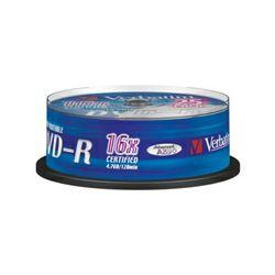 DVD-R 25 S/16x/4.7GB Wpp ID
